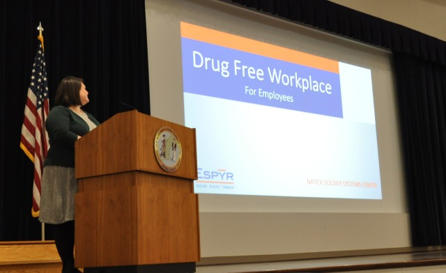 Team Natick says yes to a drug-free workplace