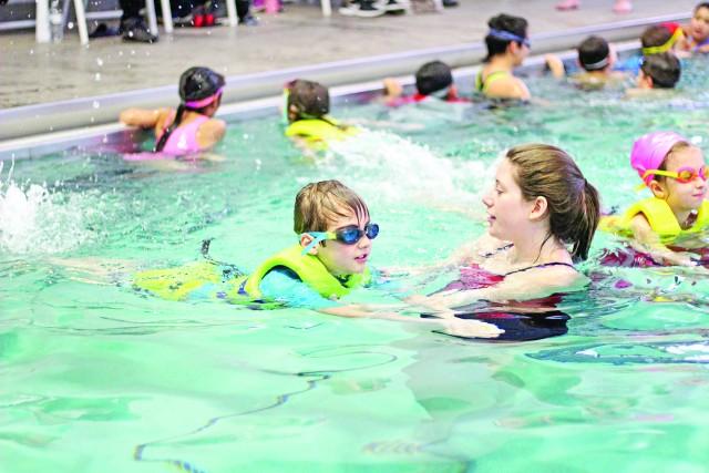 Kids get water-safety tips over spring break
