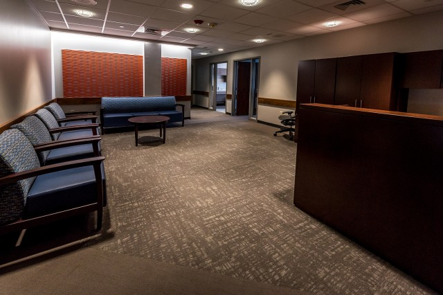 Resource Management Directorate personnel will move into their new office area next month. Individual work areas are brighter, better organized and upgraded to meet mission requirements.