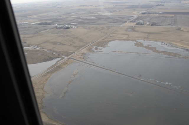 Guard members respond to Midwest's historic flooding