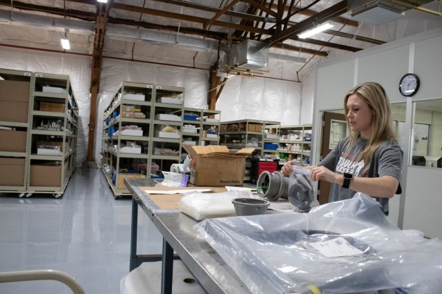 RCMD Logistics and Maintenance team ensures a steady flow of the parts and consumables required for the mission. (Photo: Jessica Tayson, U.S. Army CMA RCMD Public Affairs)