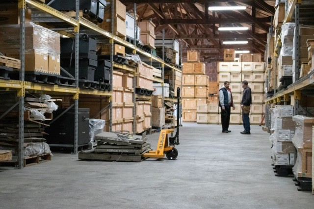 RCMD manages a large warehouse at Aberdeen Proving Ground, Md.