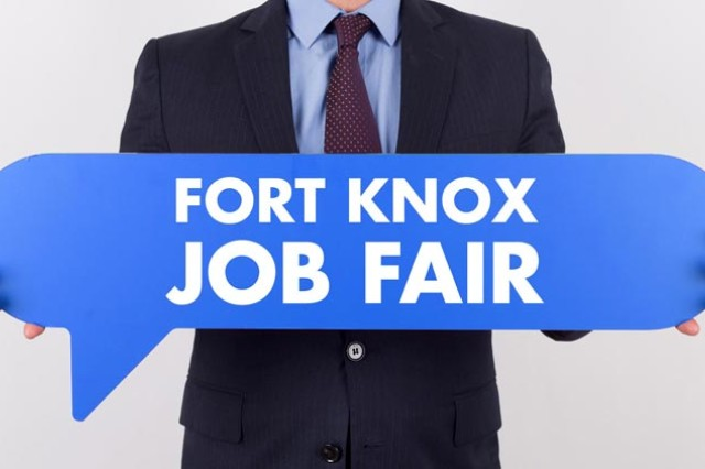 Fort Knox's Directorate of Family and Morale, Welfare and Recreation officials recently announced they have many positions that need to be filled immediately. As a result, they are hosting a job fair in Colvin Community Center March 29, 10 a.m. - 1 p.m.