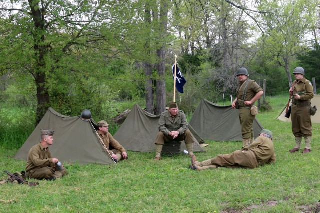 Volunteers and historical re-enactors from all over the country participated in the Living History Weekend, 22-24 March 2018, sponsored by the Museum of the America GI in College Station, TX.The museum is a non-profit organization that maintains historical uniforms, weapons and equipment that have has been used in America's conflicts.   Their stated mission is to increase the publics appreciation of the American servicemen and woman living displays and historical re-actments.Photo by Army Reserve Sgt. Rigo Cisneros