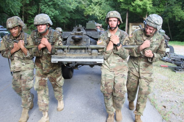 101st Airborne Division: Reserve, cadets participate in tactical combat physical training