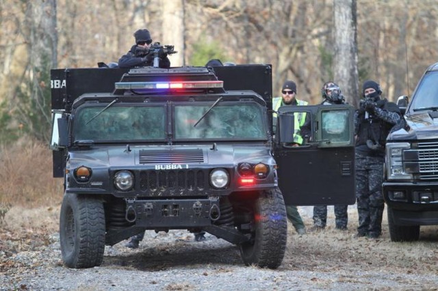 Local, military law enforcement share tactics through training