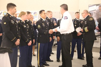 Guardsmen honored for support to first responders during snow storm
