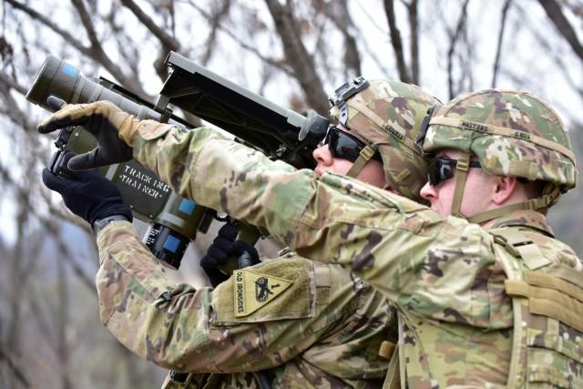 Warriors fill capability gap, learn short-range air defense