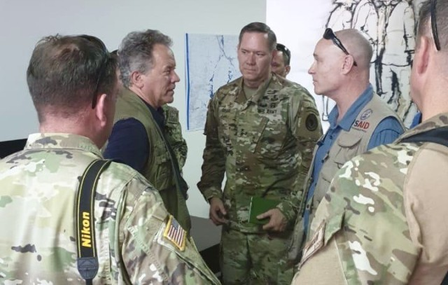 CJTF-HOA Commanding General arrives in Mozambique to support Cyclone Idai relief efforts