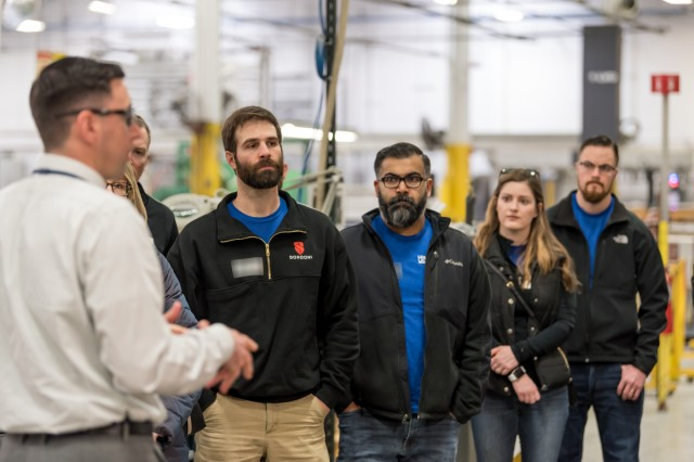 Tobyhanna Army Depot hosted the March session of Leadership Lackawanna. A number of presentations and a tour of the installation demonstrated the connection between the depot's mission and warfighter readiness, as well as Tobyhanna's impact on surrounding communities.