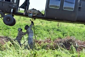 La. Guard aviators deliver late Christmas gifts, fight erosion