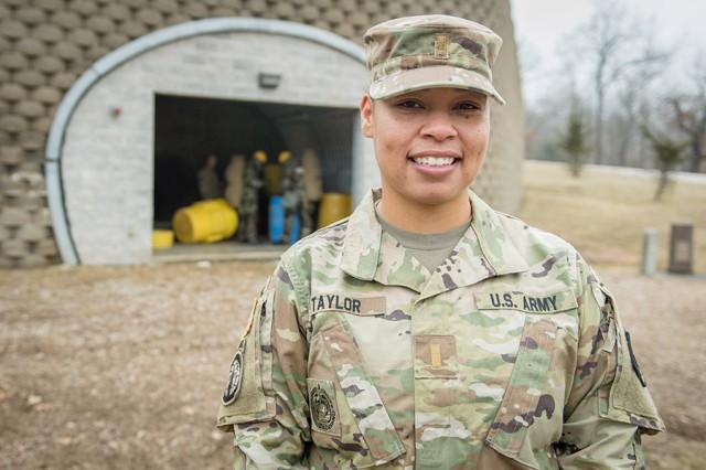 2nd Lt. Serena Taylor, 3rd Battalion, 10th Infantry Regiment.