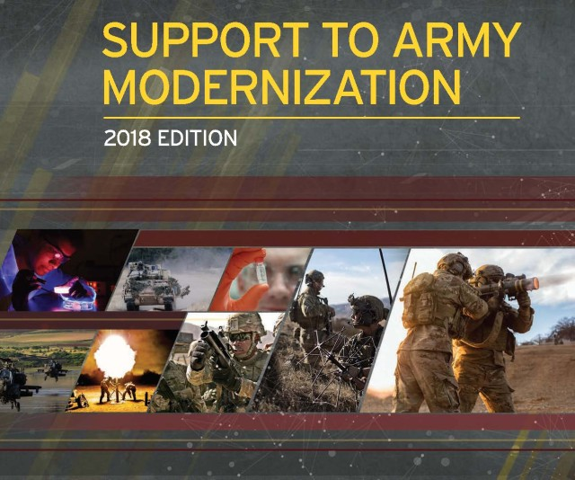 CCDC Support to Army Modernization - 2018