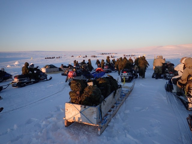 Senior Research Scientist for Physiology joins U.S.-Canadian Arctic field exercise, says U.S. Army can learn a lot from Canadian Inuit rangers