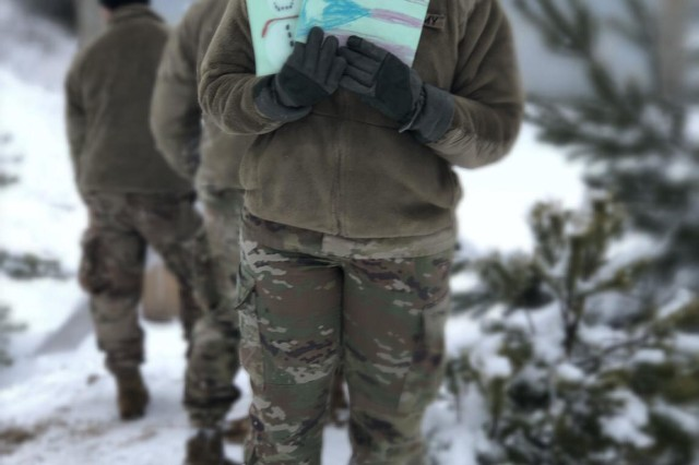 Third grade students, who are members of the 4H Program at the Elementary School Eli Ramos Rosario in Barceloneta, Puerto Rico,  sent greeting cards to the Army Reserve-Puerto Rico Soldiers deployed to Poland, earlier during the year.
