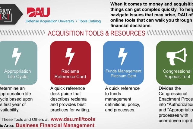 Information is just a click away on DAU website with acquisition digital prototypes and Other Transactions Guide.