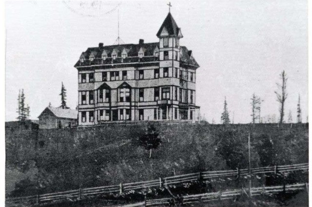 Grace Seminary opened in 1893.  From 1905-1919, it served as Centralia General Hospital