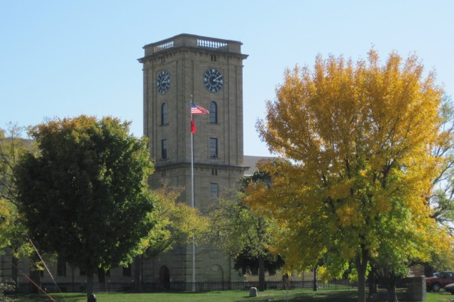 Construction of the Clock Tower Building was completed in 1867, making it the oldest permanent structure on Rock Island Arsenal.