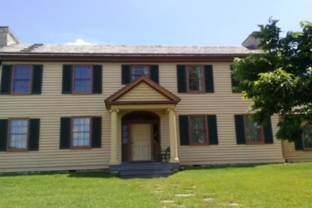 After falling into disrepair, the Davenport House was restored, with restoration efforts continuing today.