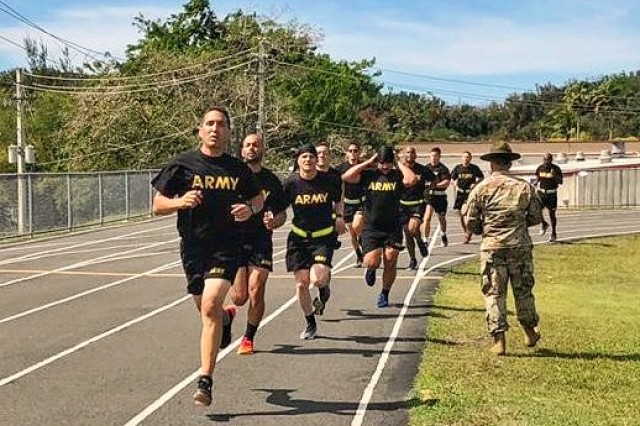 Thirty one 1st Mission Support Command, U.S. Army Reserve-Puerto Rico Soldiers participated on the German Armed Forces Proficiency Badge (GAFPB), April 2-4, in a competition that took place at several places around the island.
