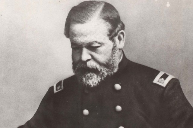 """General Thomas J. Rodman earned the title """"Father of Rock Island Arsenal"""" due to his distinctive vision for the newly founded arsenal."""