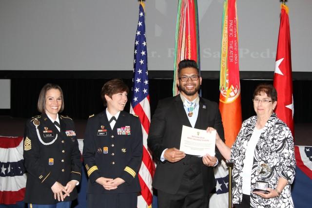 NETCOM MVP of the Year receives parking pass