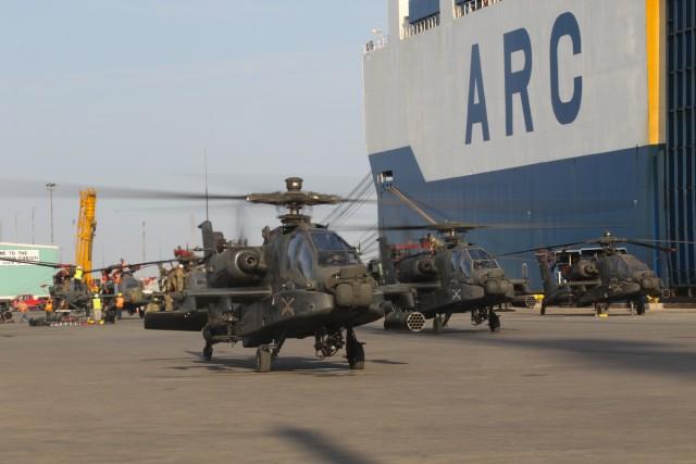 4CAB port ops at Corpus Christi, Texas