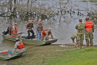 Louisiana National Guard, local agencies practice disaster readiness