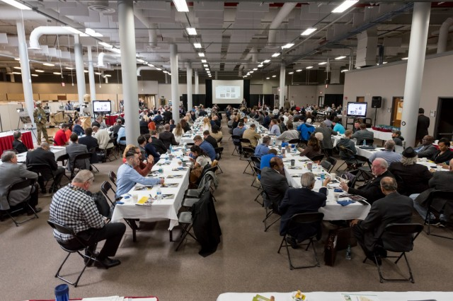 Nearly 300 participants, which included members of small and large businesses as well as government, Northeastern Pennsylvania and chamber representatives, were reminded of the significance of their role as industry partners and informed of the multitude of opportunities available.