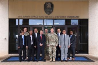 Marshall Islands delegation visits SMDC