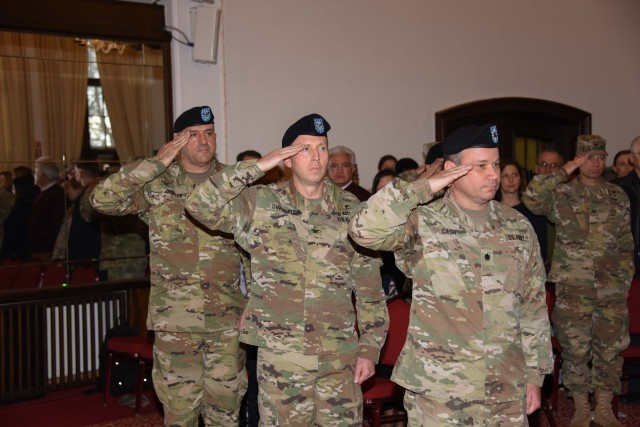 Ansbach Health Clinic Change of Command