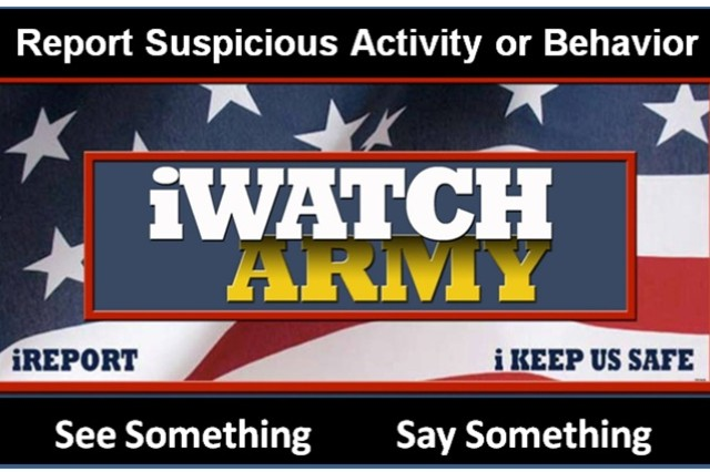 Learn more about what you can do to combat terrorism: https://mdwhome.mdw.army.mil/iwatch