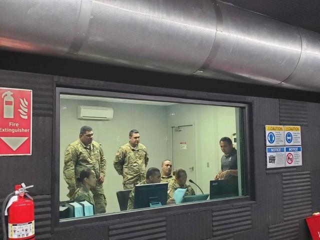 Indoor rifle range operators train in preparation for MSAR opening
