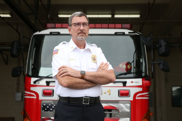 Fire Chief Charlie Butler of U.S. Army Garrison Okinawa, Torii Station, is the recipient of the 2018 Army Fire and Emergency Services Lifetime Achievement Award, and the Military Firefighter Heritage Foundation, a private organization based in San Angelo, Texas, will induct him into their hall of fame next month.