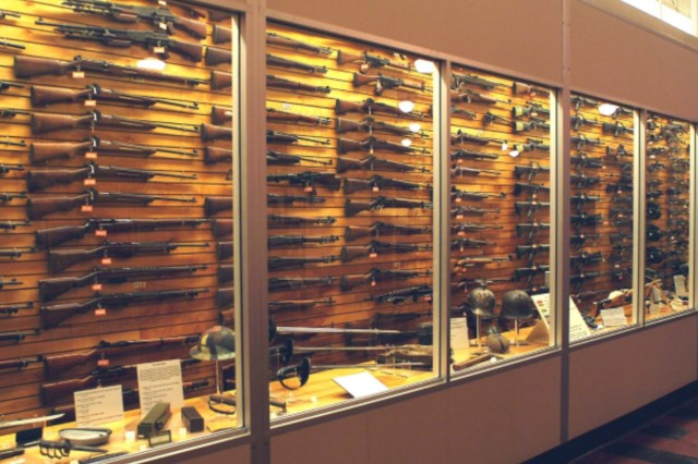 The small arms collection at the RIA Museum is among the nation's largest and contains many rare artifacts.