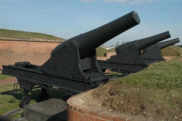 The Rodman Gun was designed for use in coastal defense.