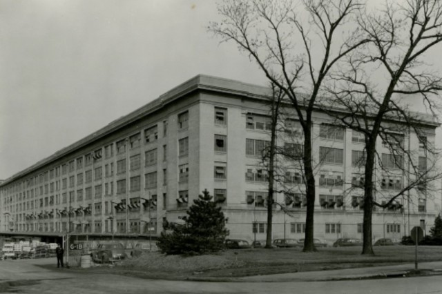 Storehouse W1 is now known as Building 350 and houses the headquarters of the Joint Munitions Command.
