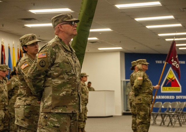 7251st MSU transfers authority to 7220th MSU at Fort Bliss