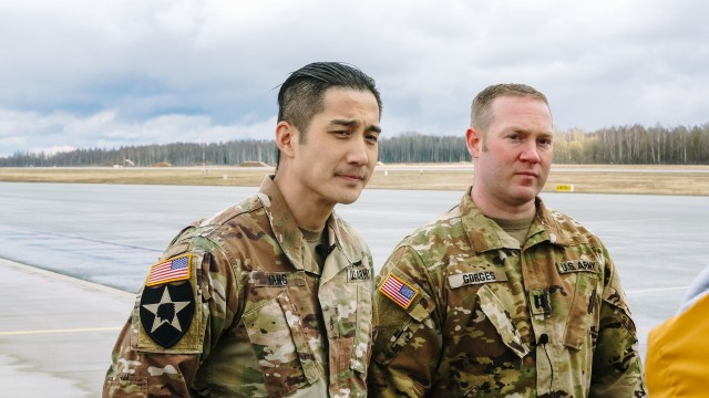U.S. Army Soldiers Save Latvian Man's Life