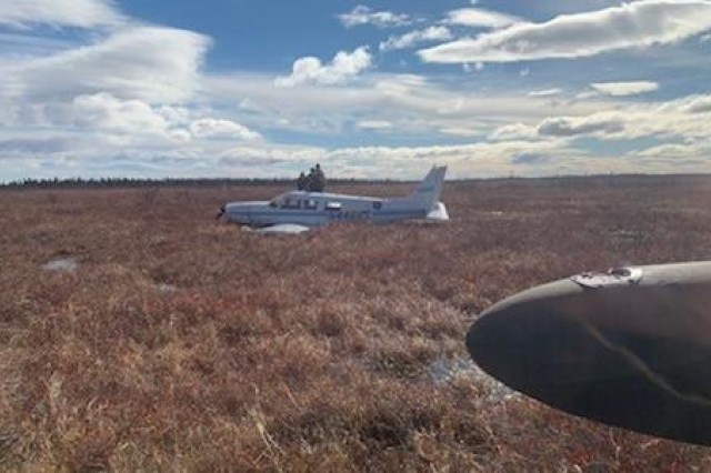 A single-engine Piper PA-32 Cherokee Six crash-landed about 35 miles northeast of Bethel, April 11, 2019. Soldiers with the Alaska Army National Guard's 207th Aviation Battalion rescued the four survivors and transported them to Bethel, a coastal community in western Alaska that sits along the Kuskokwim River, inside the Yukon Delta National Wildlife Refuge. Alaska State Troopers contacted the Alaska Rescue Coordination Center to request a search and rescue mission out of Bethel, where an Alaska Army National Guard UH-60 Black Hawk and aircrew are stationed full-time.