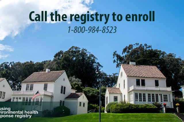 Anyone interested in enrolling in the Housing Environmental health Response Registry can call the toll-free hotline at 1-800-984-8523 where they will be able to voice their concerns. The registry will be manned 24 hours a day, seven days a week.