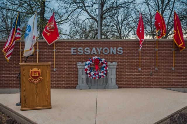 The Engineer Regiment held a Fallen Sapper Tribute April 11 at the Sapper Memorial Grove, Fort Leonard Wood, Missouri, as part of regimental week.