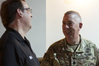 Veteran chaplain 'hacking hearts and minds' at Cyber Shield
