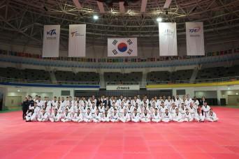 USFK personnel kicks Taekwondo training into high gear