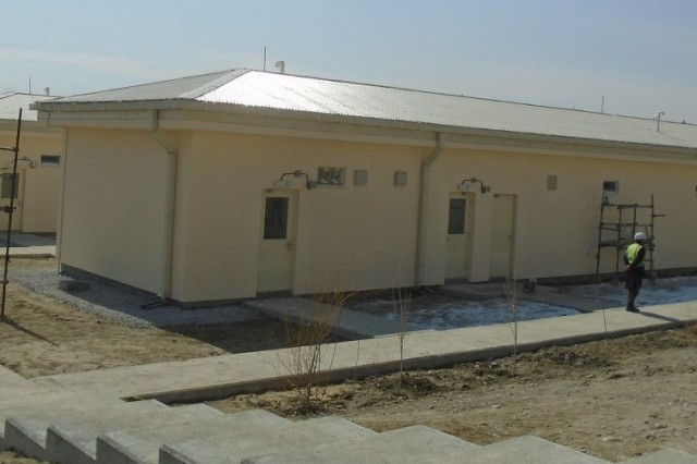 National Mission Brigade Barracks and Latrine Shower and Shave Camp Scorpion Project under construction.