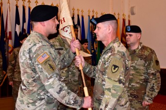 USAG Ansbach's HHC gets new commander
