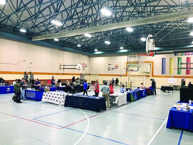 Youth job fair draws old, new participants