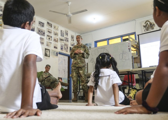 U.S. Army Medical Team Performs Community Health Engagement on Palauan States of Angaur and Peleliu