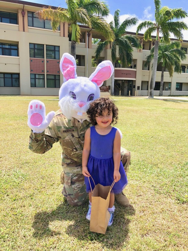 9th MSC honors its youngest heroes during the Month of the Military Child