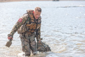 Capt. John Baer and 1st Lt. Terence Hughes, 39th Brigade Engineer Battalion, Fort Campbell, Kentucky, defeated 47 other contending teams to take home 1st place in the 2019 Best Sapper Competition at Fort Leonard Wood.